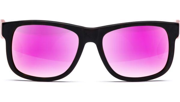 Husano small 5216 matt demi-braun/matt rosa transparent, Verspiegelt, CAT 3 von Lennox Eyewear