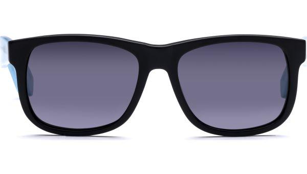 Husano small 5216 matt schwarz/matt blau transparent, CAT 3 von Lennox Eyewear