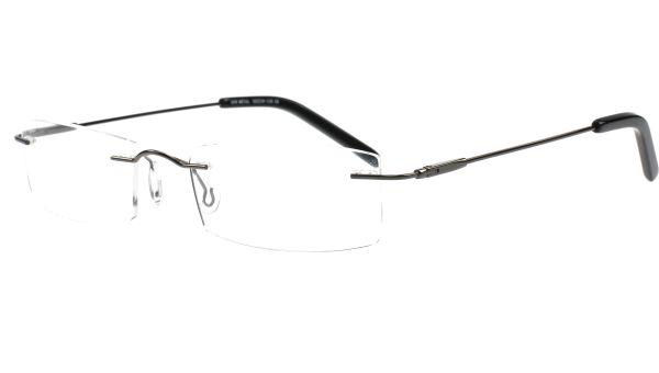 Emp Rimless Fantastic 5218 Gunmetal von Glasses Direct