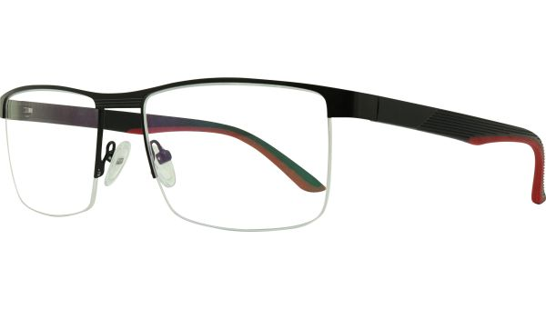 Remington5618 Matte Black von Glasses Direct