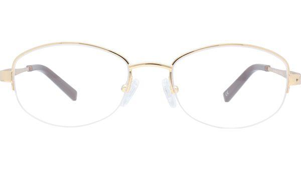 Dee 5318 Shiny Gold von Glasses Direct
