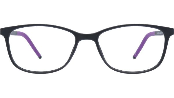 Elaine 5015 Matte Black von Glasses Direct