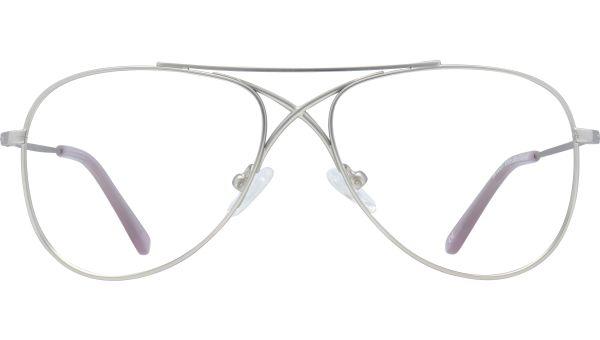 Brooke 5414 Matte Silver von Glasses Direct