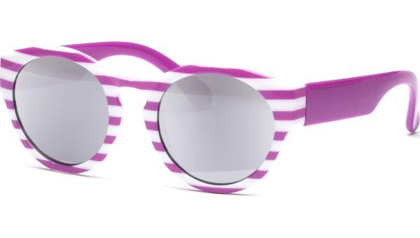 Sonnenbrille Una 4319 lila/weiß von Acumed Kids