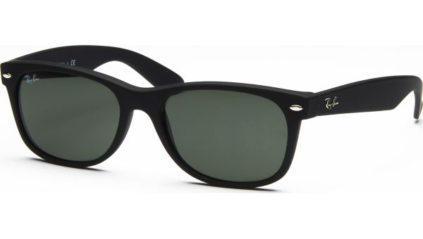 New Wayfarer 2132 622 5518 Black Rubber/Crystal Green von Ray-Ban