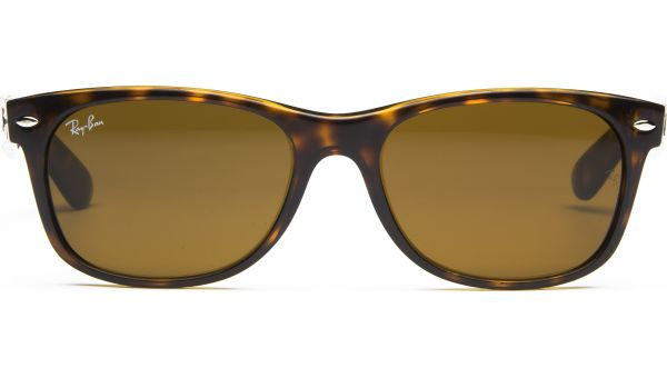 New Wayfarer 2132 710 5518 Light Havana/Crystal Brown von Ray-Ban