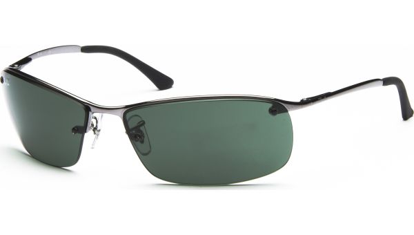Top Bar 3183 004/71 6315 Gunmetal/Green von Ray-Ban