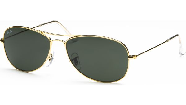 Cockpit 3362 001 5614 Arista/Crystal Green von Ray-Ban