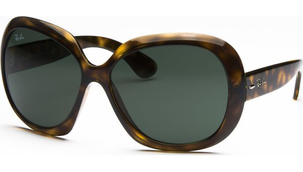 Jackie Ohh ll 4098 710/71 6015 Light Havana/Green von Ray-Ban