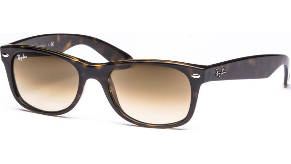 New Wayfarer 2132 710/51 5218 Light Havana/Crystal Brown Gradient von Ray-Ban