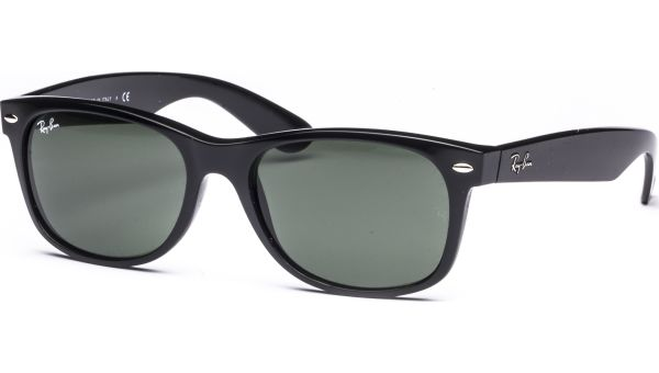 New Wayfarer 2132 901L 5518 Black/Crystal Green von Ray-Ban