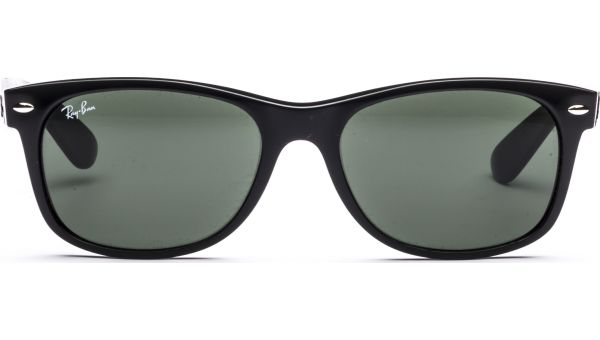 New Wayfarer 2132 901L 5518 Black/Crystal Green von Ray-Ban
