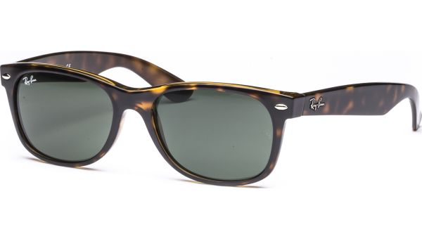 New Wayfarer 2132 902L 5518 Tortoise/Crystal Green von Ray-Ban