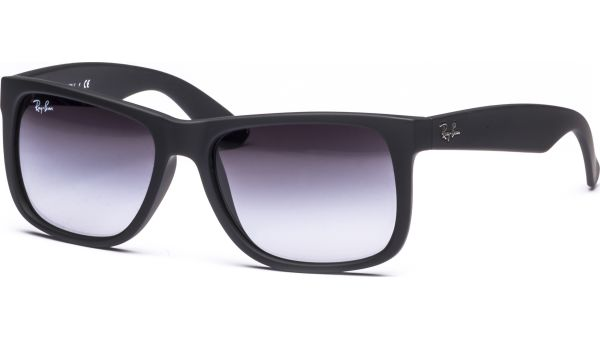 Justin 4165 601/8G 5516 Rubber Black/Gray Gradient von Ray-Ban