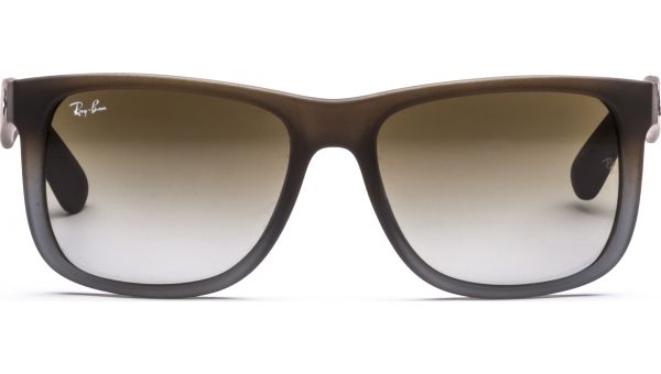 Justin 4165 854/7Z 5516 Rubber Brown on Grey/Green Grd von Ray-Ban