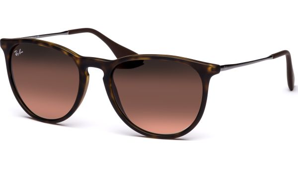 Erika 4171 865/13 5418 Rubber Havana/Brown Gradient von Ray-Ban