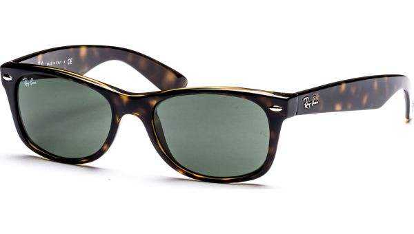 New Wayfarer 2132 902 5218 Tortoise/Crystal Green von Ray-Ban