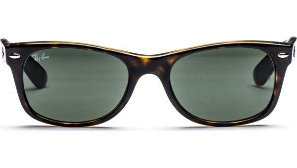 New Wayfarer 2132 902 5218 Tortoise/Crystal Green von Ray-Ban