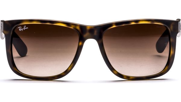 Justin 4165 710/13 5516 Rubber Light Havana/Brown Grd von Ray-Ban