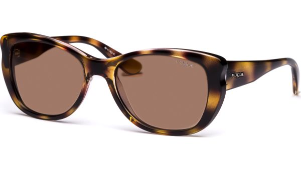 2844S 190913 5718 Light Havana/Brown Gradient von Vogue