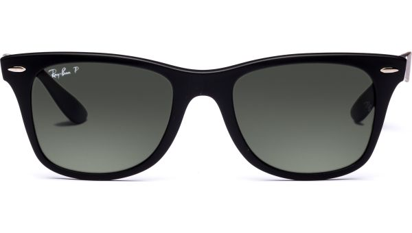 Wayfarer Liteforce 4195 601S9A 5220 Matte Black/Polar Green von Ray-Ban