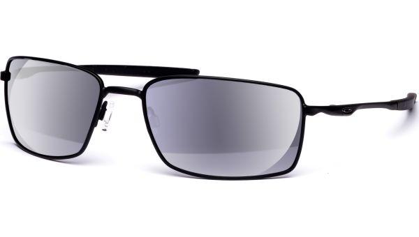 Square Wire 4075 05 6017 Matte Black/Black Iridium Pol von Oakley