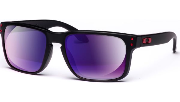 Holbrook 9102 36 5518 Matte Black/Red Iridium von Oakley