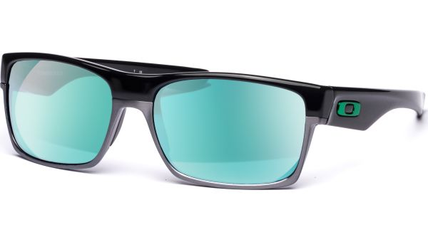 Twoface 9189 918904 6016 Polished Black/Jade Iridium von Oakley