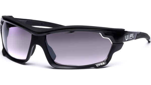 sportstyle 304 IR S530687 2299 7116 black/silver-green brown-clear von Uvex