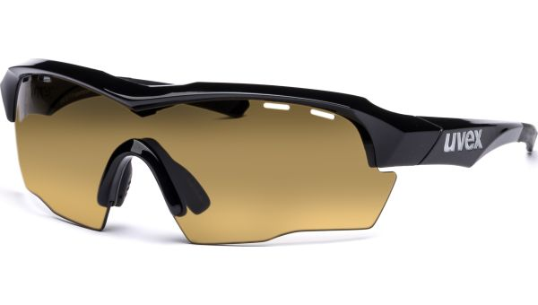 sportstyle 104 IR S531633 2299 7515 black/green brown-orange-clear von Uvex