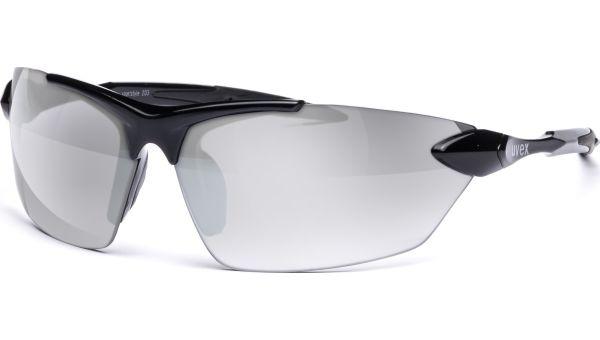 sportstyle 203 S530524 2216 7912 black/silver von Uvex