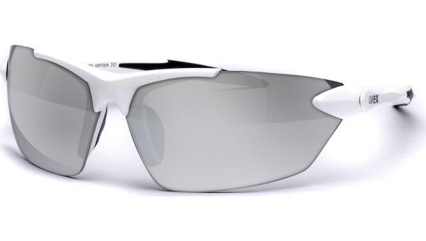 sportstyle 203 S530524 8816 7912 white/silver von Uvex
