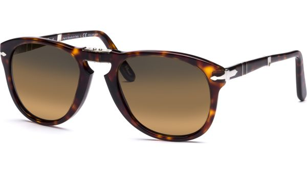 0714 24/57 5421 Havana/Crystal Brown Polarized von Persol