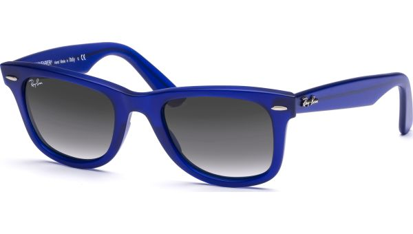Wayfarer 2140 887/96 5022 Matt Blue/Crystal Bl Faded Br von Ray-Ban