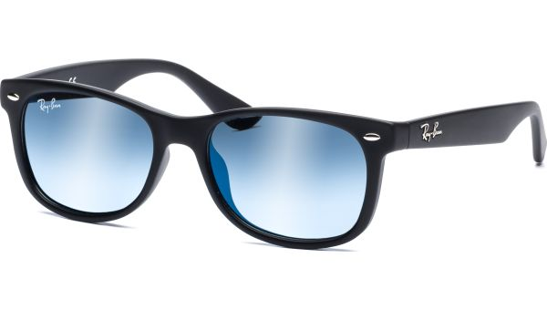 Junior New Wayfarer 9052S 100S55 4715 Matte Black/Blue Mirror von Ray-Ban