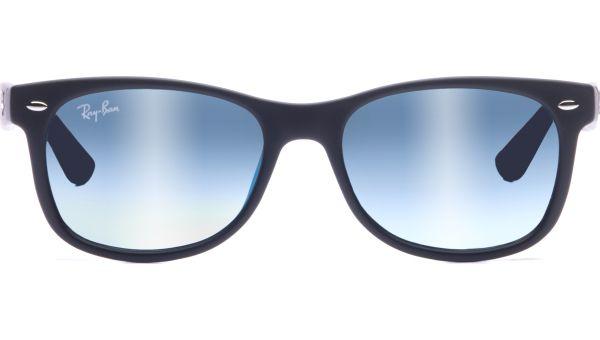 Junior New Wayfarer 9052S 100S55 4715 Matte Black/Blue Mirror von Ray-Ban