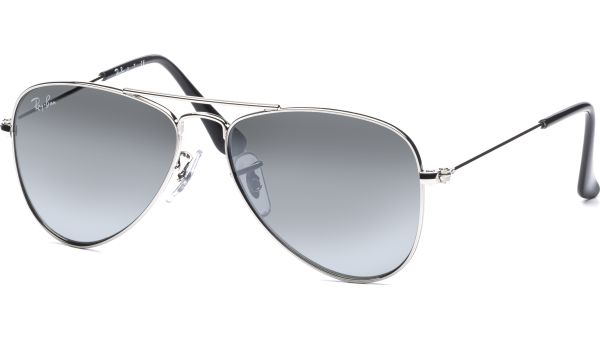 Junior 9506S 212/6G 5013 Shiny Silver/Grey Silver Mirror von Ray-Ban