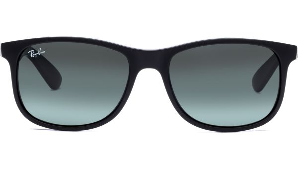 Andy 4202 606971 5517 Matte Black/Dark Green von Ray-Ban