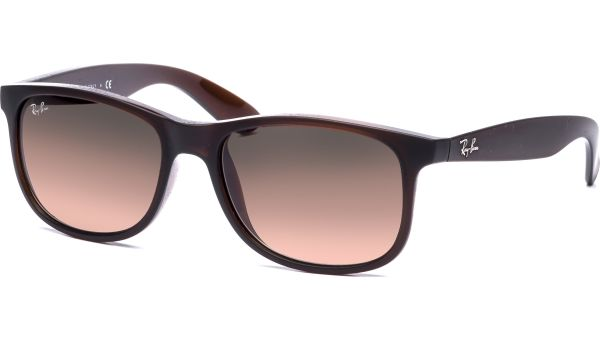 Andy 4202 607313 5517 Matte Brown/Brown Gradient von Ray-Ban