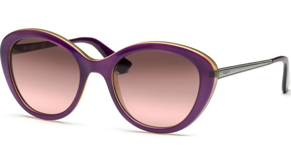 2870S 226814 5219 Top Transparent Violet/Transparent Yellow/Pink Gradient Brown von Vogue