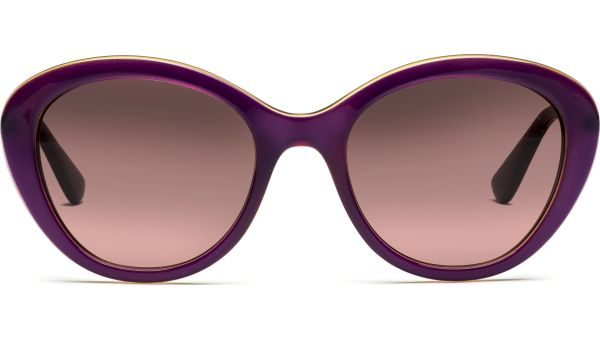 2870S 226814 5219 Top Transparent Violet/Transparent Yellow/Pink Gradient Brown von Vogue