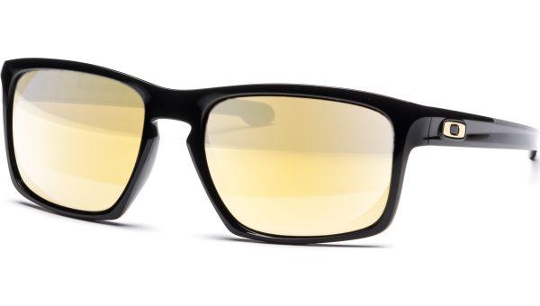 Sliver 9262 926205 5718 Polished Black/24K Iridium von Oakley