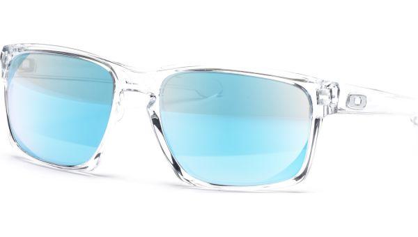 Sliver 9262 926206 5718 Polished Clear/Sapphire Iridium von Oakley