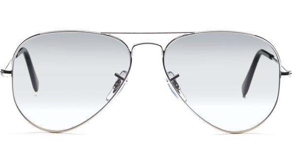 Aviator Metal Small 3025 003/32 5514 Silver/Crystal Grey Gradient von Ray-Ban