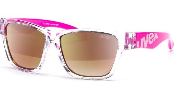 sportstyle 508 S533895 9316 4514 clear pink/mirror red von Uvex