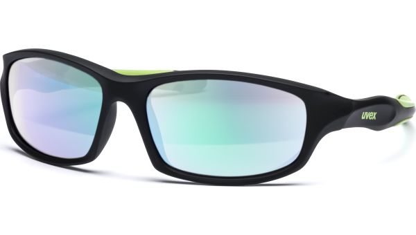 sportstyle 507 S533866 2716 5317 black mat green/mirror green von Uvex