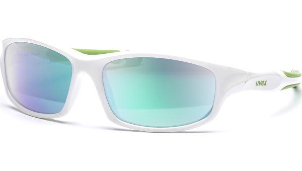 sportstyle 507 S533866 8716 5317 white green/mirror green von Uvex
