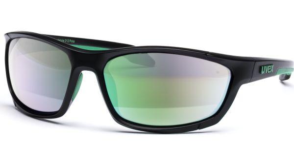 sportstyle 212 pola S530632 2770 6918 black green/polavision green von Uvex