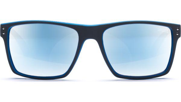 SDS Kobe 105 5619 Matt Grey/Fluro blue/Chrome mirror von Superdry