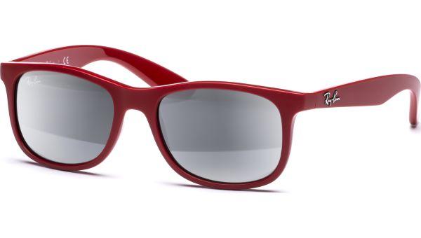 Junior 9062S 7015G 4816 red/ Mirror Silver von Ray-Ban
